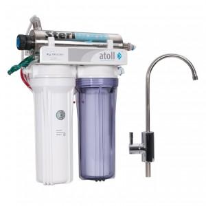Проточный питьевой фильтр atoll D-21u STD
